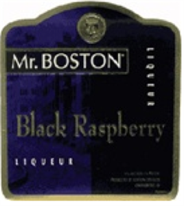 Mr Boston Black Raspberry Liqueur